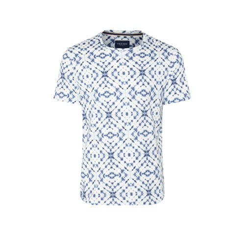 WE Fashion Blue Ridge T-shirt met all over print n