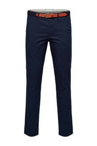 Selected Homme +Fit slim fit chino donkerblauw, Donkerblauw