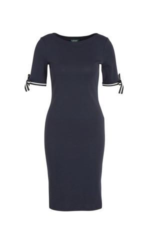 jersey jurk Brandeis donkerblauw