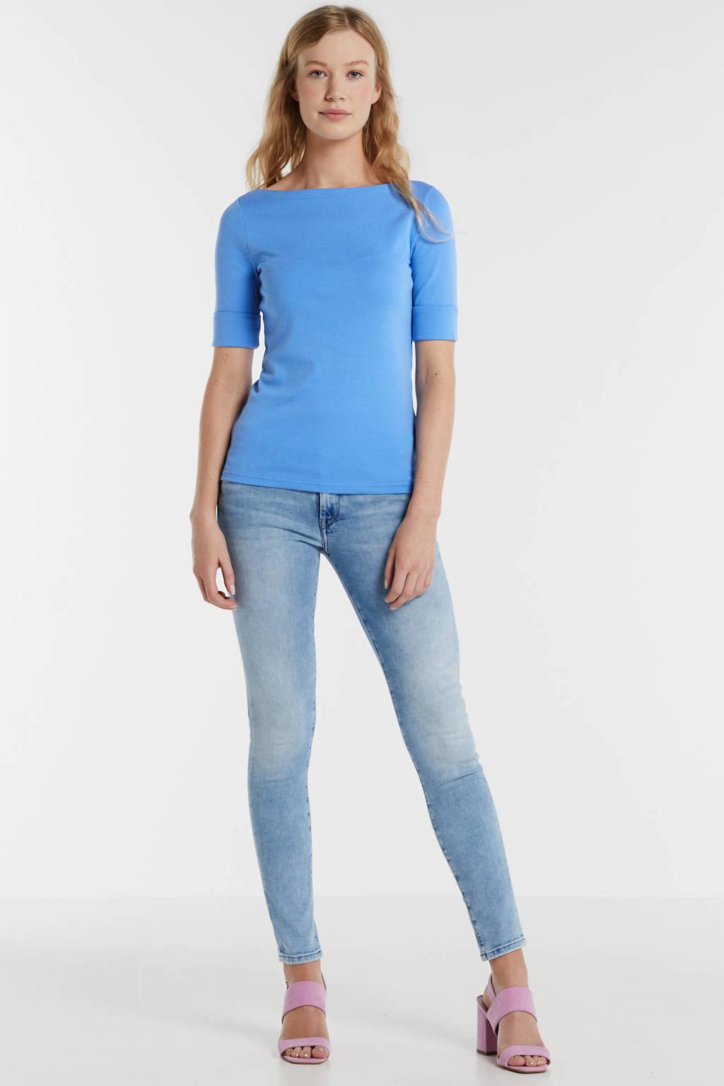 Lauren Ralph Lauren top blauw, Blauw