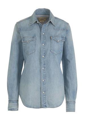 blouse medium indigo