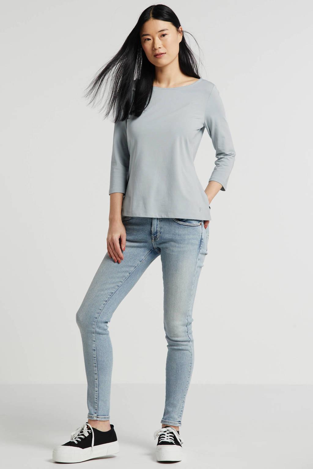 POLO Ralph Lauren skinny jeans Tompkins blauw, Blauw
