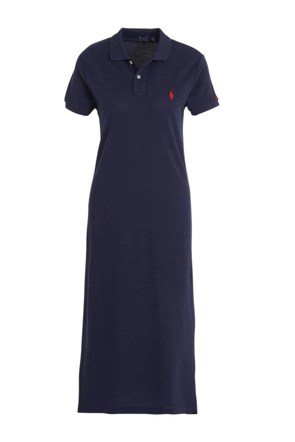 POLO Ralph Lauren maxi jurk donkerblauw, Donkerblauw