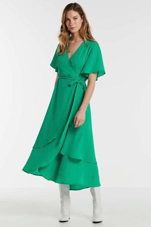 wikkeljurk van gerecycled polyester groen