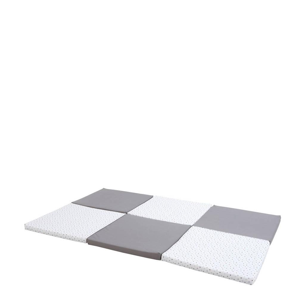 Candide 5-in-1 XL speelmat, Grijs/wit
