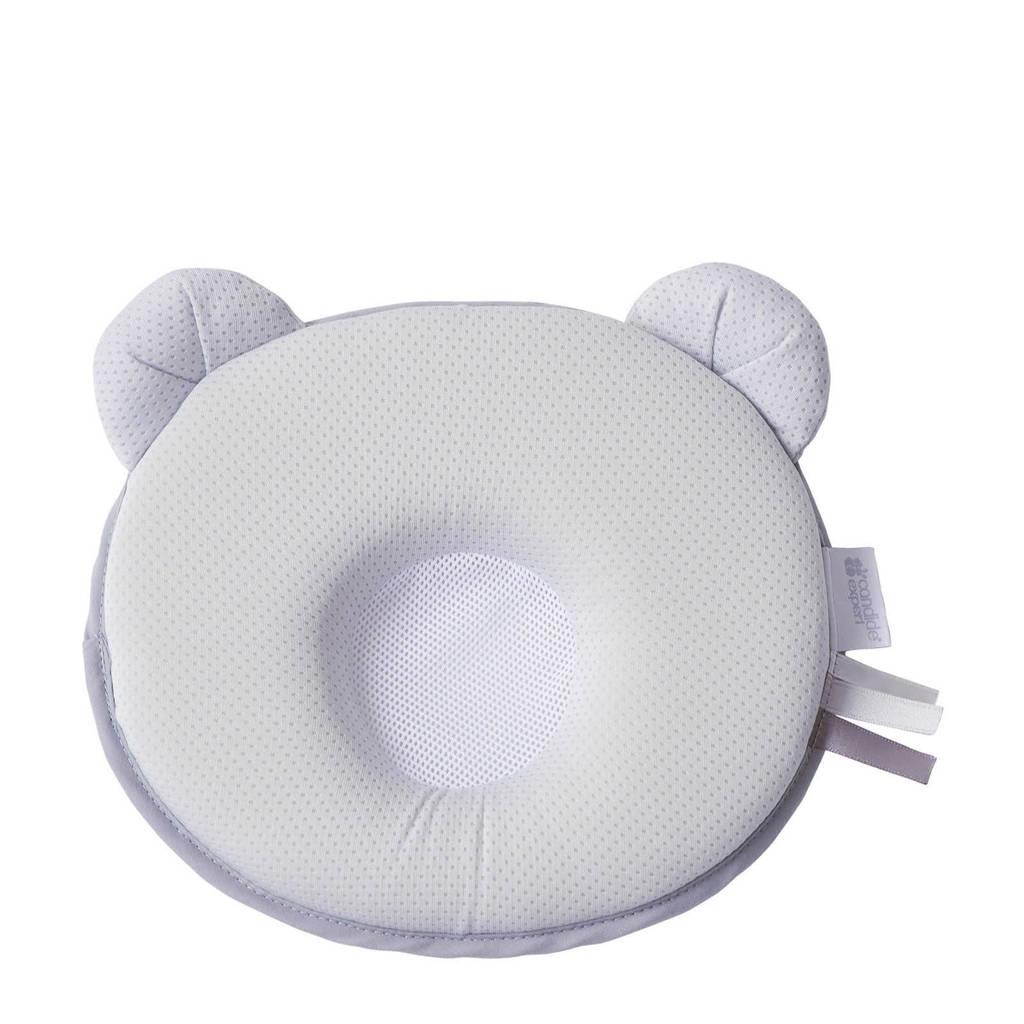 Candide ergonomisch hoofdkussentje petit panda air+  (21x19x3 cm), Grijs