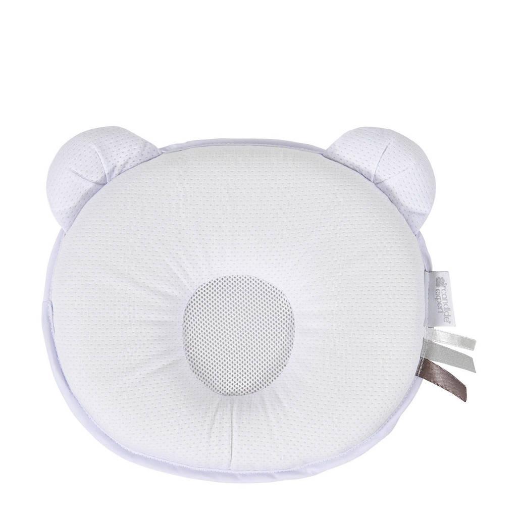 Candide ergonomisch hoofdkussentje petit panda air+  (21x19x3 cm), Wit