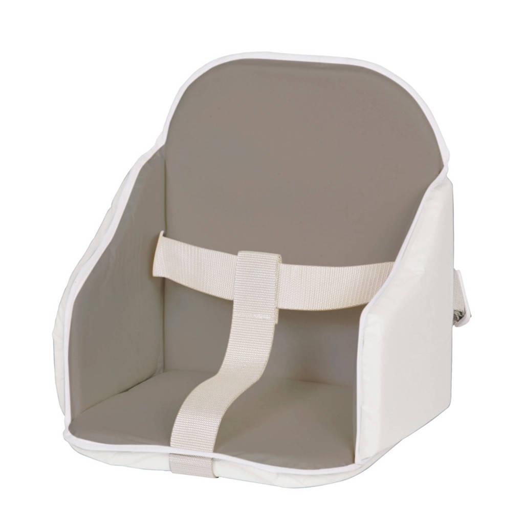 Candide kinderstoel verkleiner grijs-wit, Grijs/wit