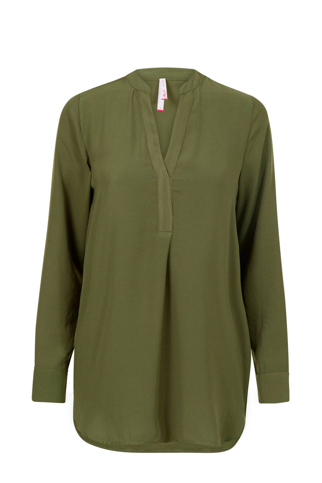 Miss Etam Regulier blouse groen, Groen