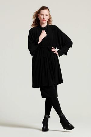 kimono met ceintuur zwart
