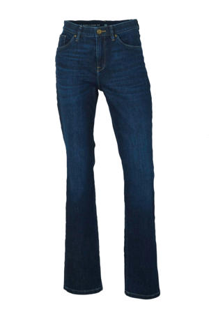 The Denim straight fit jeans blauw