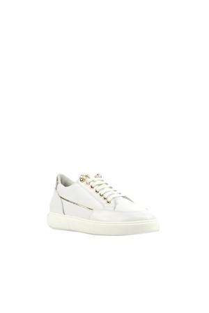 8633991 leren sneakers wit
