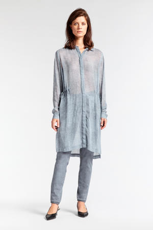 blouse grijsblauw
