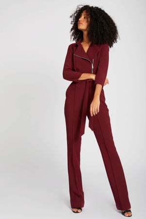 jumpsuit bordeaux