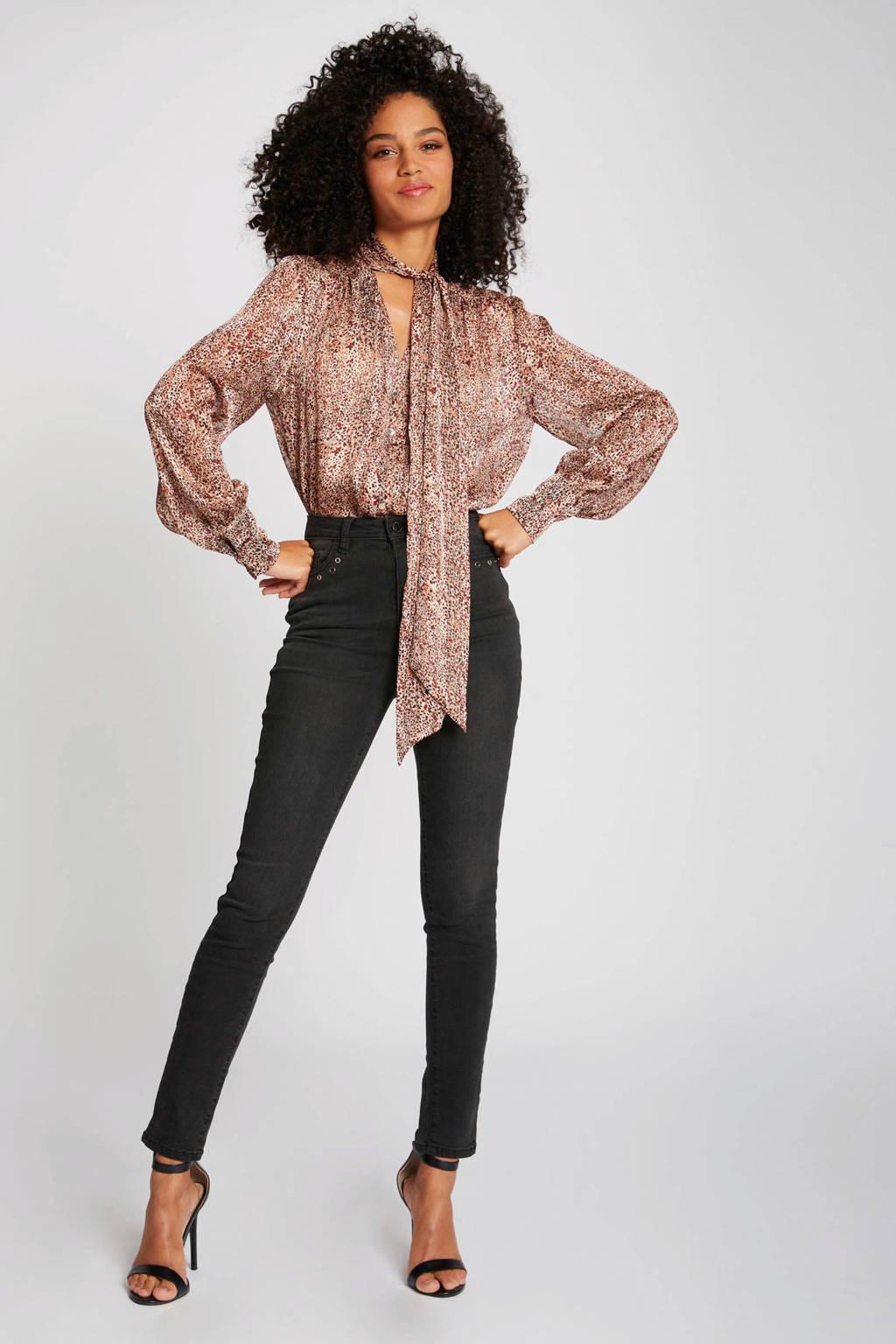 Morgan blouse met all over print multicolor, Multicolor