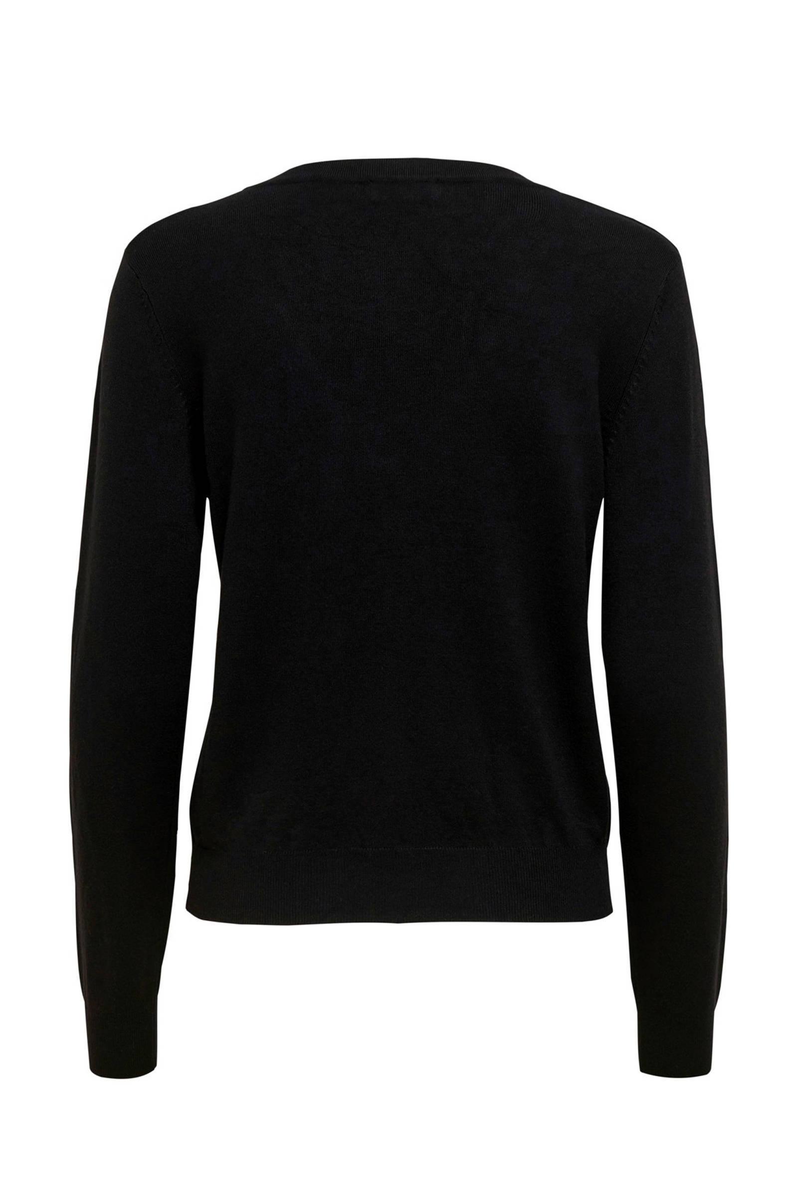 JACQUELINE DE YONG vest zwart
