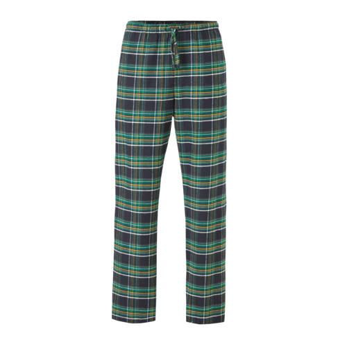 GAP geruite flanellen pyjamabroek groen