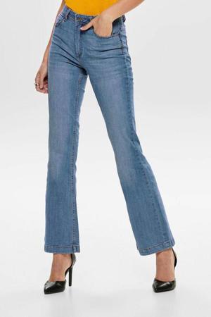 flared jeans JDYFLORA medium blue denim