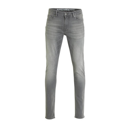 Amsterdenim slim fit jeans Jan muis grijs