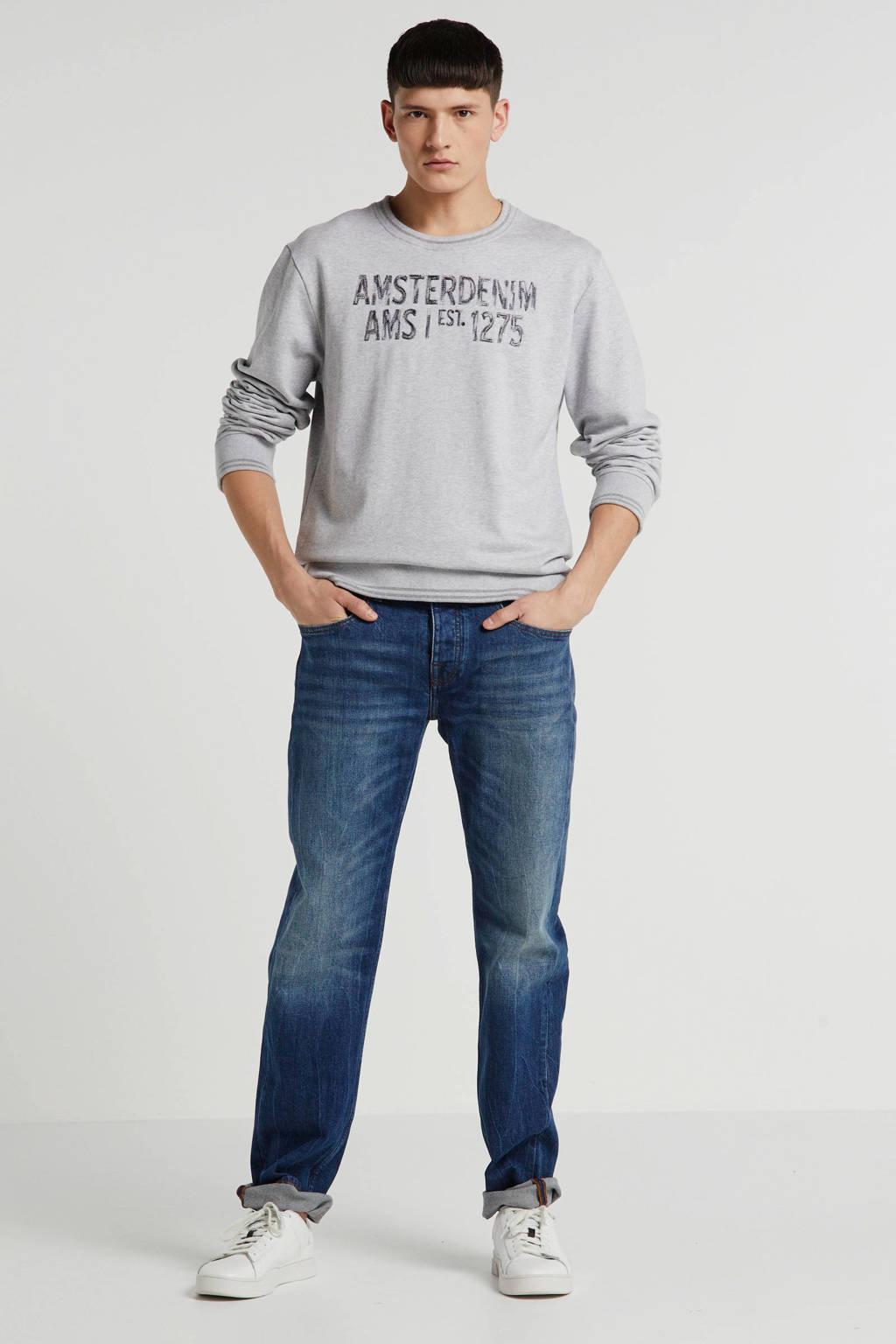 Amsterdenim slim fit jeans Klaas 5 year wash, 5 Year Wash
