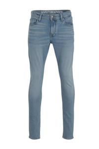 Amsterdenim slim fit jeans Jan blauw, Blauw