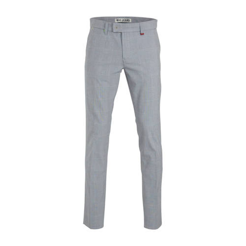 MAC slim fit pantalon grijs