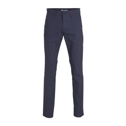 MAC slim fit pantalon donkerblauw
