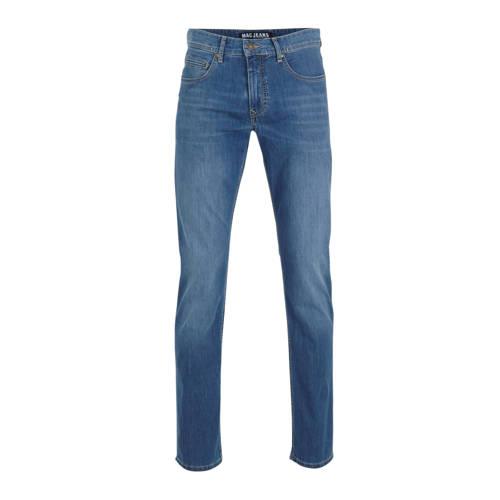 MAC slim fit jeans donkerblauw