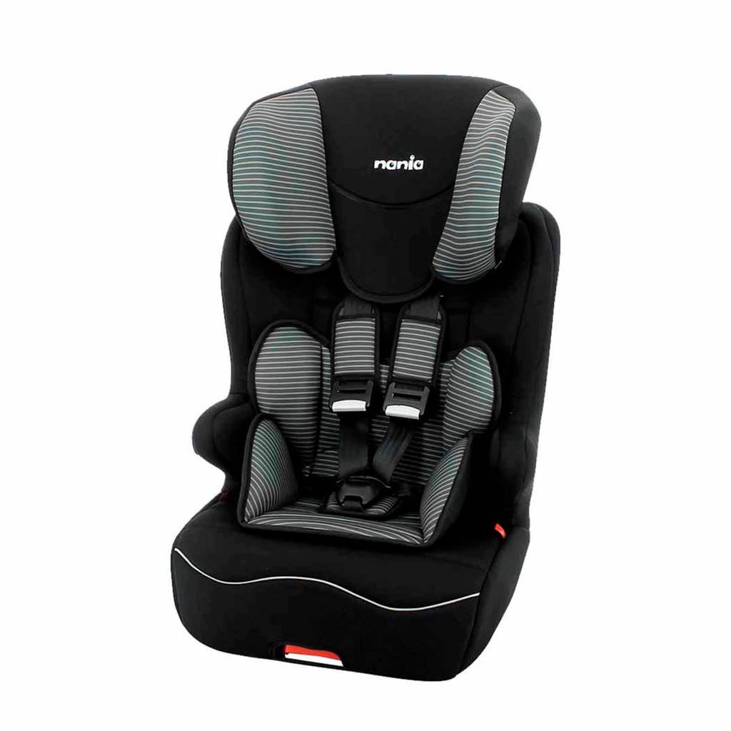 Nania Racer Isofix autostoel grijs, Zwart, grijs