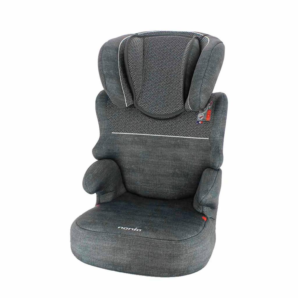 Nania Befix Sp Zig Zag autostoel donkergrijs, Donkergrijs