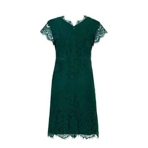 PROMISS kanten jurk groen