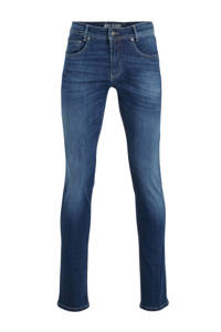 MAC slim fit jeans blauw, Blauw
