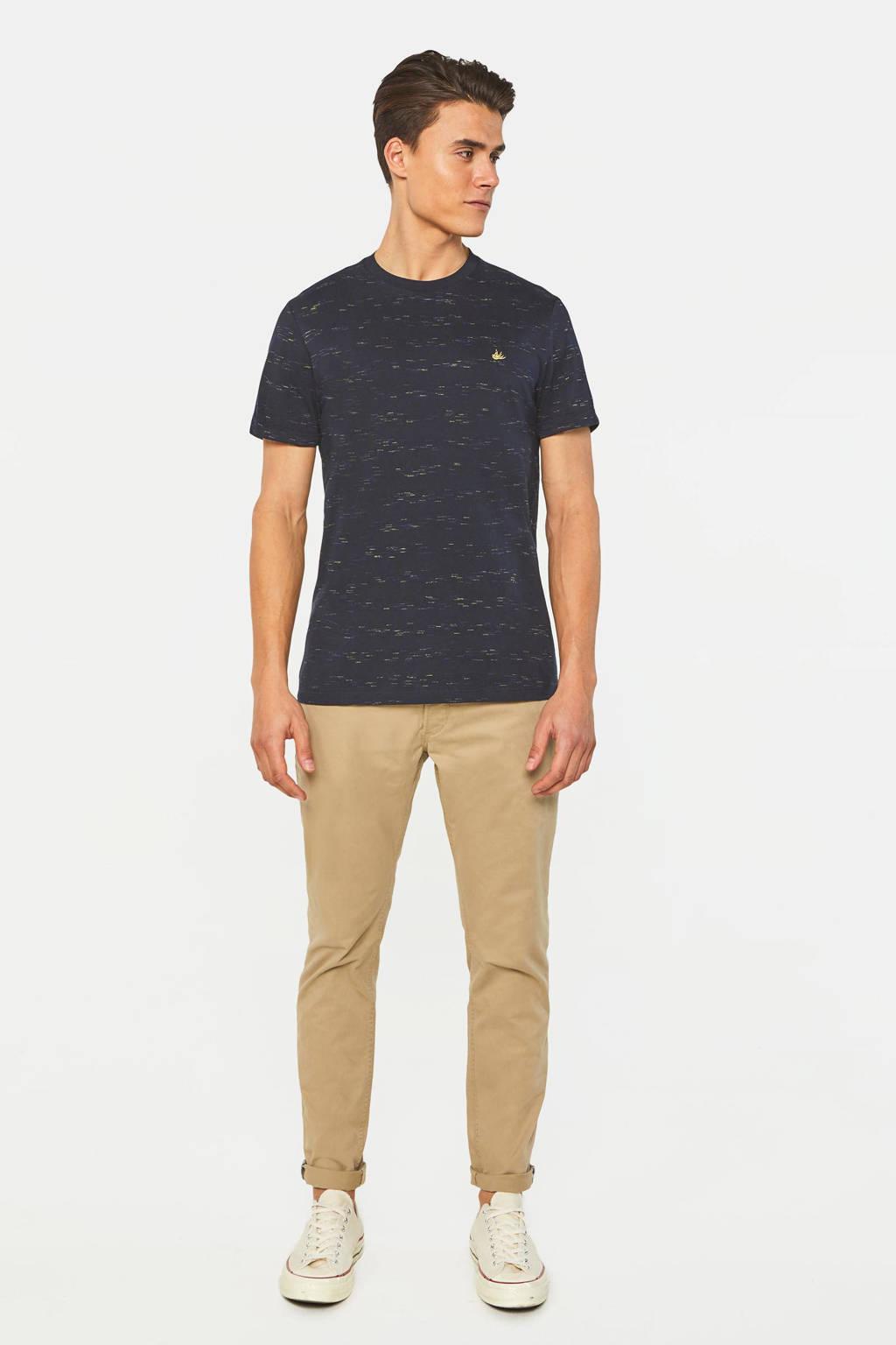 WE Fashion gemêleerd T-shirt royal navy, Royal Navy