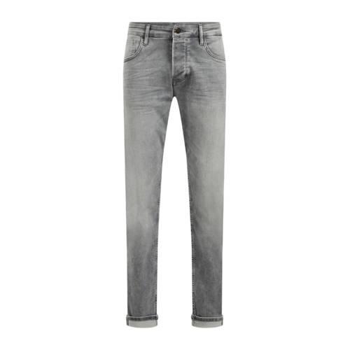 WE Fashion Blue Ridge slim fit jeans light grey de