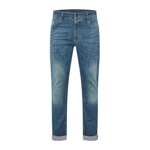 WE Fashion Blue Ridge slim fit jeans green cast de