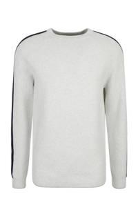 s.Oliver Big Size gemêleerde sweater grijs melange, Grijs melange