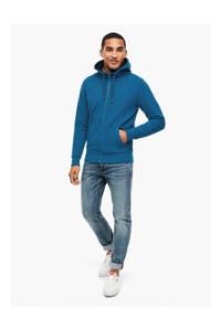 s.Oliver vest blauw, Blauw