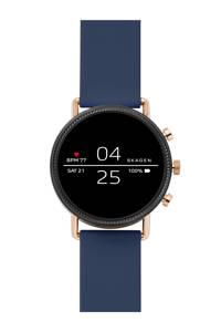 Skagen Falster Gen 4 heren display smartwatch SKT5110, rosegoudkleurig