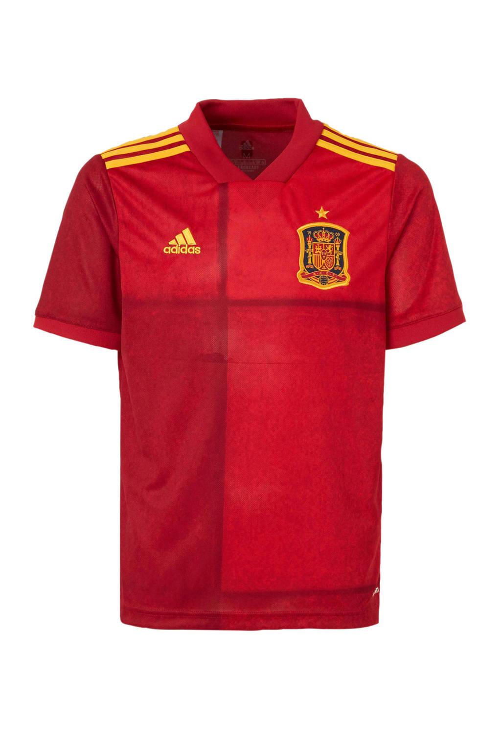adidas Junior Spanje voetbalshirt rood, Jongens/meisjes