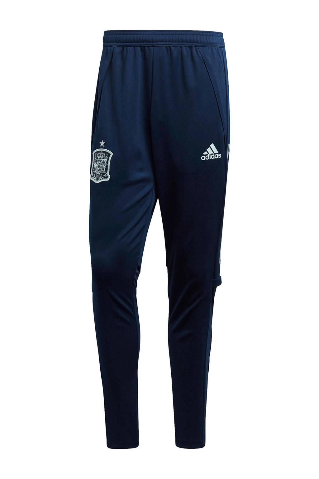 adidas Senior Spanje sportbroek Training, Donkerblauw