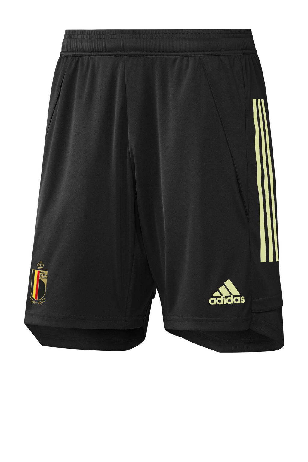 adidas Performance Senior België voetbalshort training zwart, Zwart