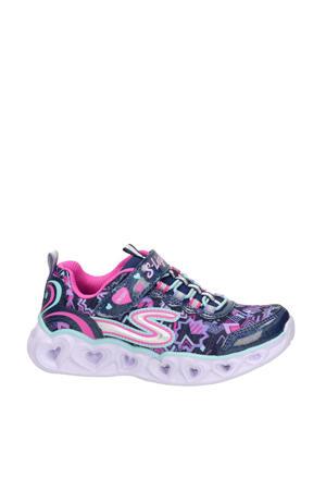 S-Lights  sneakers met lichtjes blauw