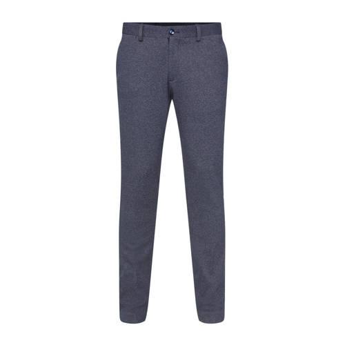 WE Fashion slim fit pantalon royal navy melange
