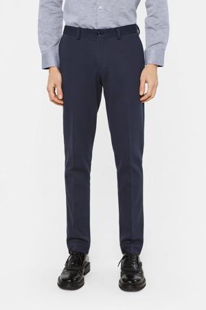 slim fit pantalon royal navy