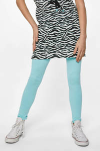 WE Fashion legging lichtblauw, Lichtblauw