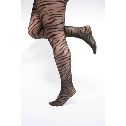 Pamela Mann panty 30 den met zebraprint
