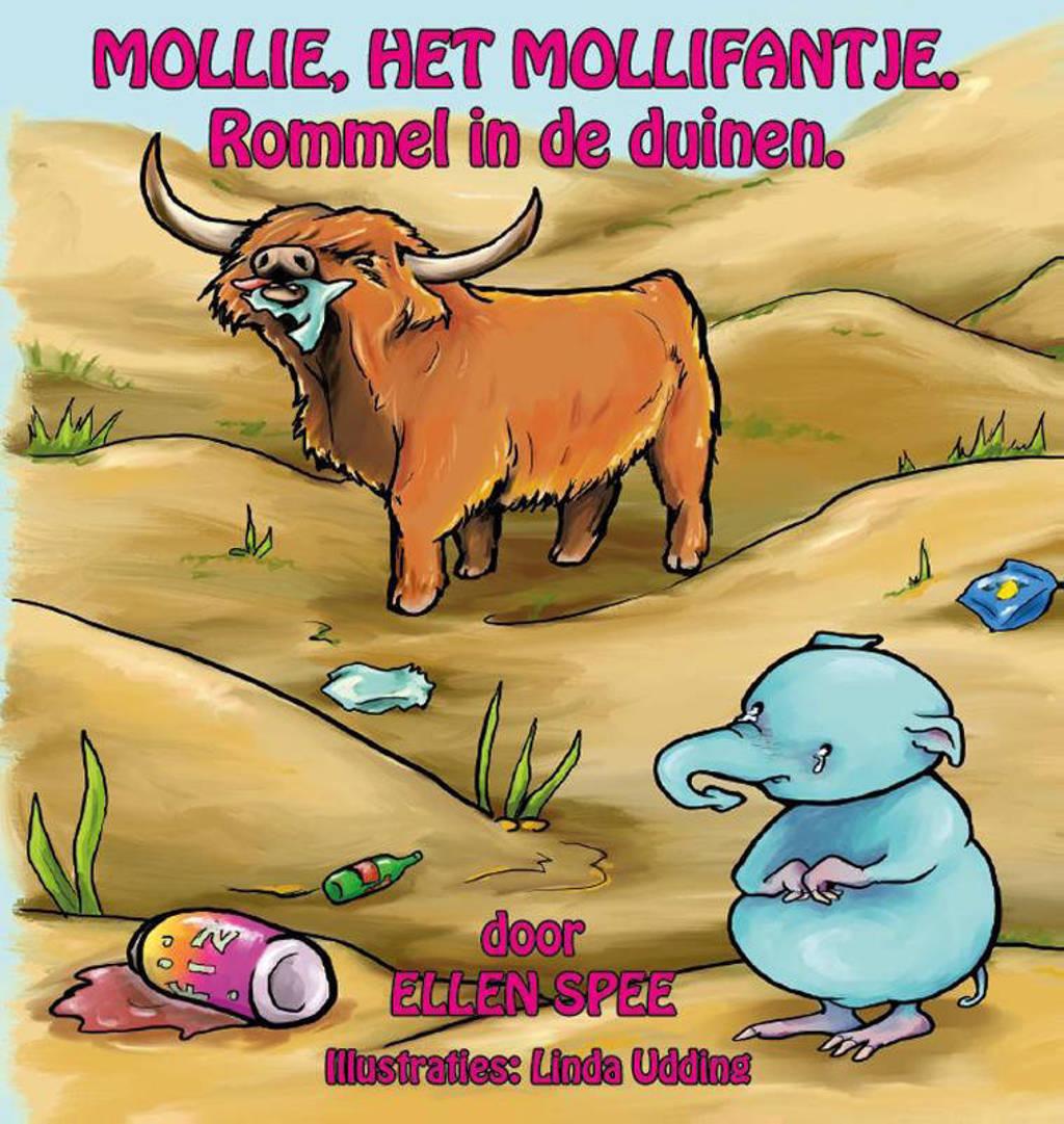 Mollie, het Mollifantje 2 Rommel in de duinen - Ellen Spee
