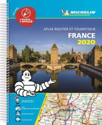 *ATLAS MICHELIN FRANKRIJK 2020 GEPLASTFICEERD