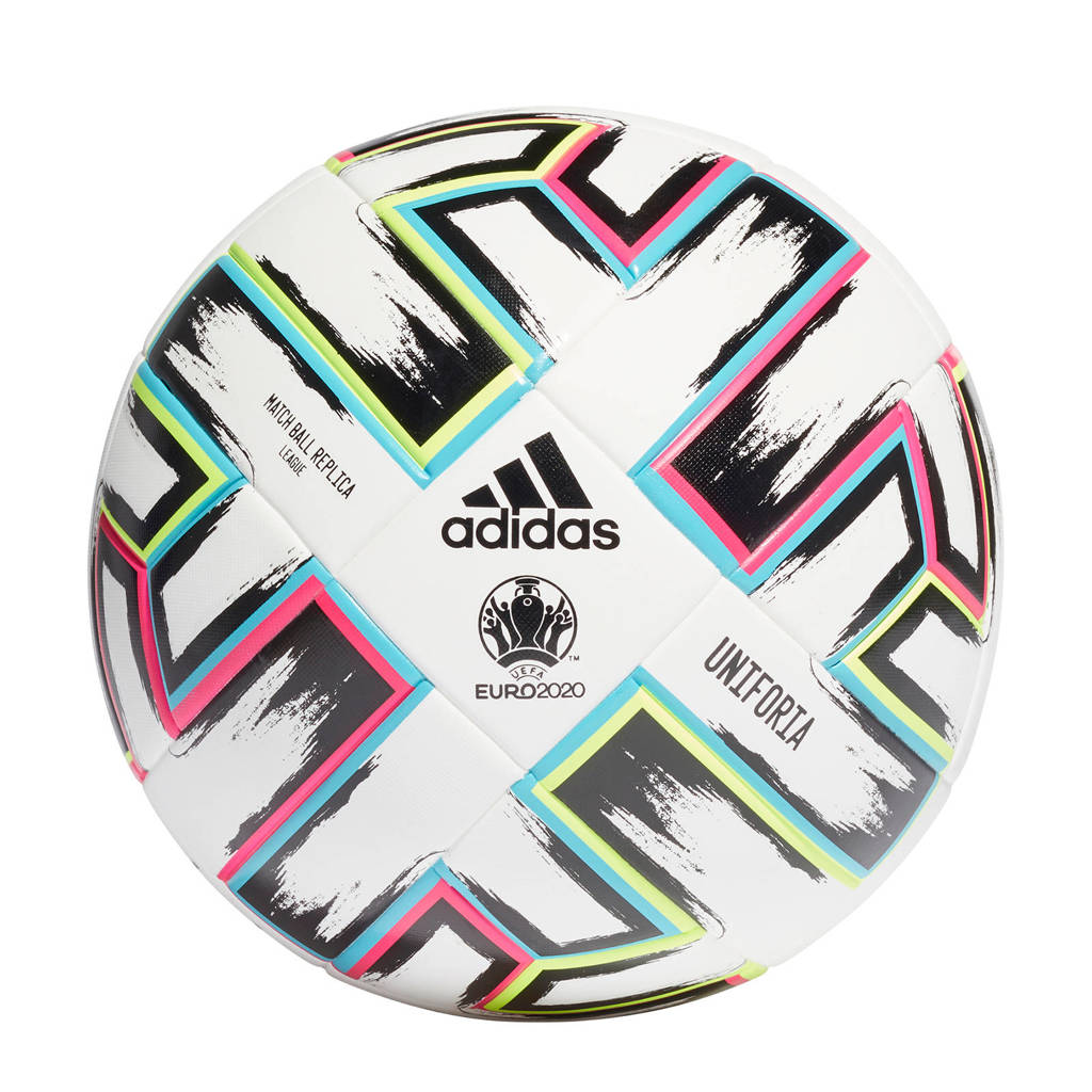 adidas Performance   Uniforia EK 2020 voetbal multicolor maat 5, wit/multicolor