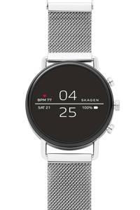 Skagen Falster Gen 4 heren display smartwatch SKT5102, Zilver